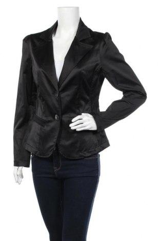 Γυναικείο σακάκι Ann Christine, Μέγεθος M, Χρώμα Μαύρο, 52% πολυεστέρας, 45% βαμβάκι, 3% ελαστάνη, Τιμή 6,37€