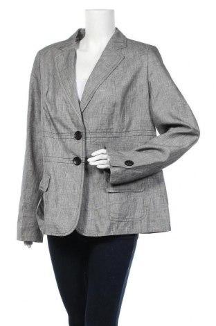 Дамско сако Bogner, Размер XXL, Цвят Сив, 53% вълна, 47% лен, Цена 58,70лв.