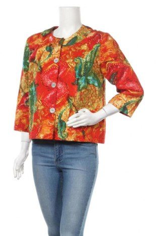 Дамско сако Chico's, Размер M, Цвят Многоцветен, Памук, Цена 57,40лв.