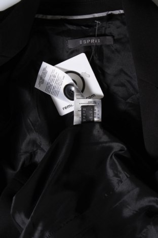 Дамско сако Esprit, Размер L, Цвят Черен, 71% полиестер, 23% вискоза, 6% еластан, Цена 121,50лв.