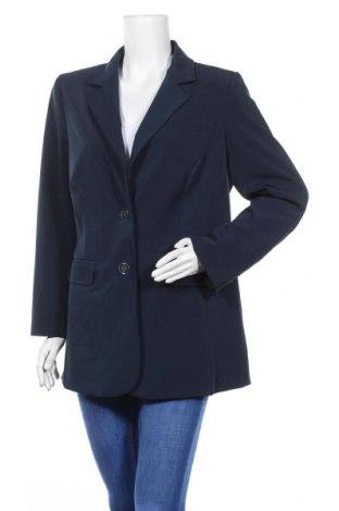 Дамско сако Fabiani, Размер XL, Цвят Син, 92% полиестер, 8% еластан, Цена 23,63лв.