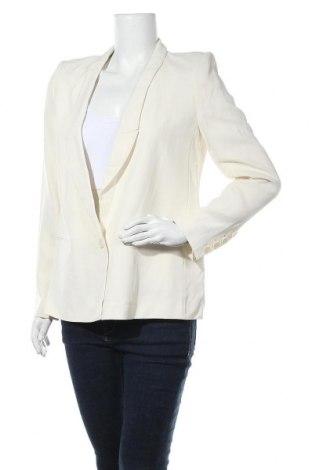 Дамско сако Gerard Darel, Размер M, Цвят Бял, 50% вълна, 50% вискоза, Цена 48,20лв.
