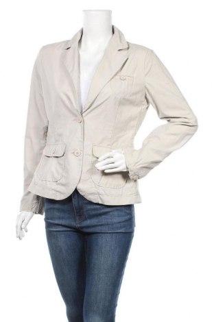 Дамско сако H&M L.O.G.G., Размер L, Цвят Бежов, 100% памук, Цена 12,76лв.