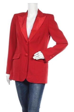 Γυναικείο σακάκι Madeleine, Μέγεθος M, Χρώμα Κόκκινο, 53% πολυεστέρας, 45% μαλλί, 4% ελαστάνη, Τιμή 17,15€