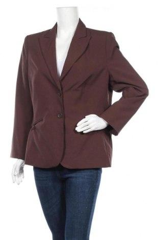 Дамско сако Miss H., Размер XL, Цвят Кафяв, Полиестер, Цена 3,00лв.