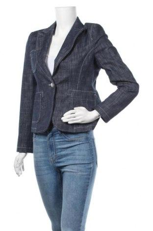 Дамско сако More & More, Размер S, Цвят Син, 67% памук, 30% полиестер, 3% еластан, Цена 3,00лв.