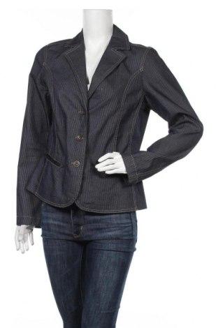 Γυναικείο σακάκι One Touch, Μέγεθος M, Χρώμα Μπλέ, Βαμβάκι, Τιμή 5,91€