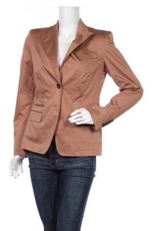 Дамско сако Rene Lezard, Размер L, Цвят Кафяв, 96% памук, 4% еластан, Цена 17,22лв.