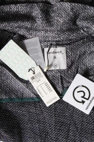 Дамско сако Sandwich_, Размер M, Цвят Сив, Памук, Цена 126,75лв.