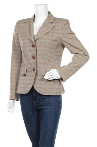 Γυναικείο σακάκι Yorn, Μέγεθος M, Χρώμα  Μπέζ, 62% πολυεστέρας, 32% βισκόζη, 6% ελαστάνη, Τιμή 6,59€