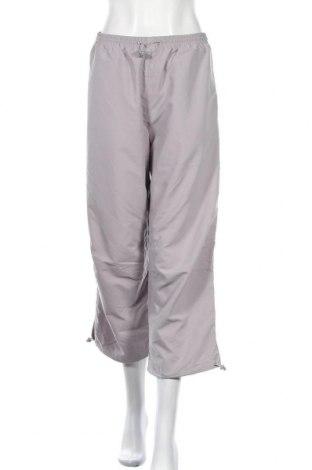 Γυναικείο αθλητικό παντελόνι, Μέγεθος L, Χρώμα Γκρί, Πολυεστέρας, Τιμή 6,43€