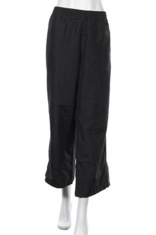 Γυναικείο αθλητικό παντελόνι Adidas, Μέγεθος XL, Χρώμα Μαύρο, Πολυεστέρας, Τιμή 15,43€