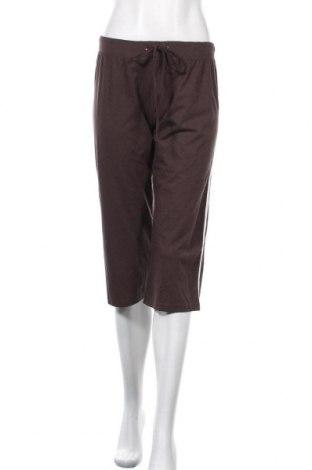 Γυναικείο αθλητικό παντελόνι Blue Motion, Μέγεθος M, Χρώμα Καφέ, 48% βαμβάκι, 48% μοντάλ, 4% ελαστάνη, Τιμή 4,97€
