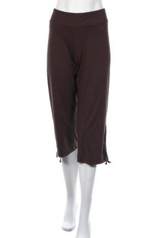 Γυναικείο αθλητικό παντελόνι Joy, Μέγεθος M, Χρώμα Καφέ, 48% βισκόζη, 44% πολυεστέρας, 8% ελαστάνη, Τιμή 4,77€