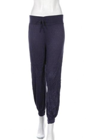 Γυναικείο αθλητικό παντελόνι Today, Μέγεθος M, Χρώμα Μπλέ, 95% βισκόζη, 5% ελαστάνη, Τιμή 14,03€