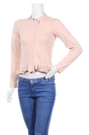 Дамско яке, Размер S, Цвят Розов, 94% памук, 6% еластан, Цена 10,66лв.