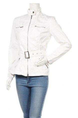 Дамско яке Comma,, Размер M, Цвят Бял, 96% памук, 4% еластан, Цена 32,33лв.