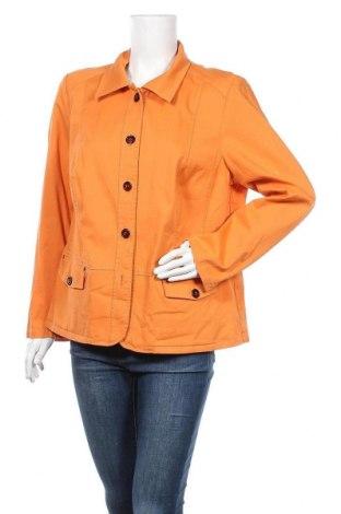 Дамско яке Cosma, Размер L, Цвят Оранжев, 97% памук, 3% еластан, Цена 9,19лв.