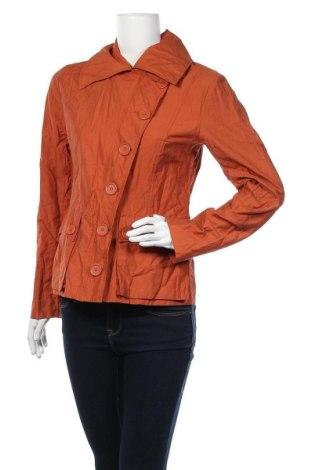 Дамско яке H&M, Размер M, Цвят Оранжев, 55% памук, 39% полиамид, 6% метални нишки, Цена 9,98лв.