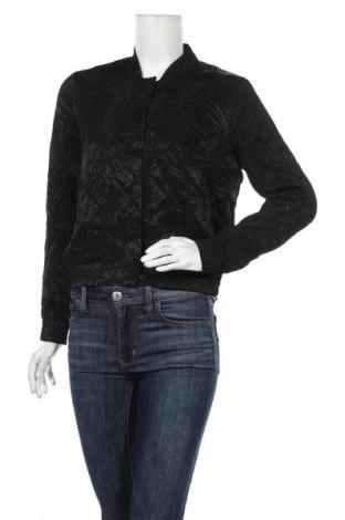 Дамско яке H&M, Размер S, Цвят Черен, Вискоза, Цена 11,34лв.