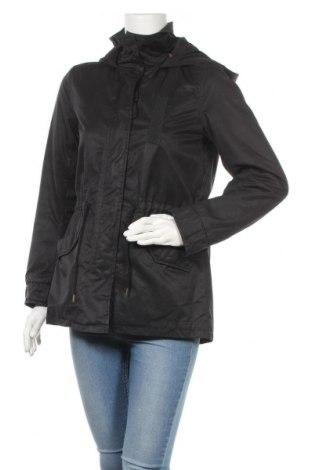 Дамско яке H&M L.O.G.G., Размер XS, Цвят Черен, 83% полиестер, 17% памук, Цена 28,56лв.