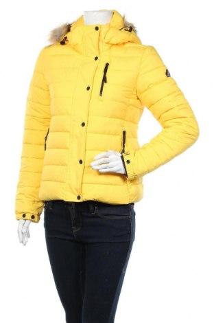 Дамско яке Superdry, Размер S, Цвят Жълт, Цена 108,57лв.