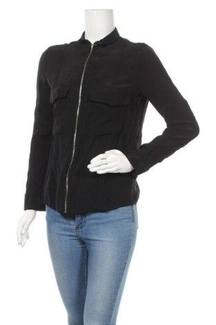 Дамска риза Zara Trafaluc, Размер S, Цвят Черен, 63% купро, 37% вискоза, Цена 20,90лв.