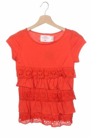Детска блуза H&M L.O.G.G., Размер 8-9y/ 134-140 см, Цвят Червен, Памук, Цена 14,28лв.