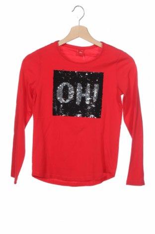 Παιδική μπλούζα S.Oliver, Μέγεθος 11-12y/ 152-158 εκ., Χρώμα Κόκκινο, Βαμβάκι, Τιμή 10,10€