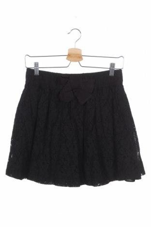 Παιδική φούστα Inside, Μέγεθος 15-18y/ 170-176 εκ., Χρώμα Μαύρο, 70% βαμβάκι, 30% πολυαμίδη, Τιμή 4,09€