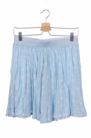 Παιδική φούστα Inside, Μέγεθος 14-15y/ 168-170 εκ., Χρώμα Μπλέ, Βισκόζη, Τιμή 4,77€