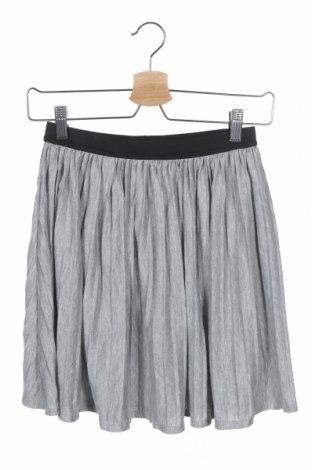 Παιδική φούστα Y.F.K., Μέγεθος 12-13y/ 158-164 εκ., Χρώμα Γκρί, 64% πολυεστέρας, 30% βισκόζη, 3% μεταλλικά νήματα, 3% πολυαμίδη, Τιμή 8,77€
