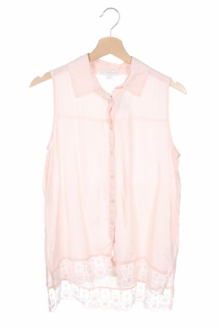 Детска риза Charles Vogele, Размер 15-18y/ 170-176 см, Цвят Розов, Вискоза, Цена 4,26лв.