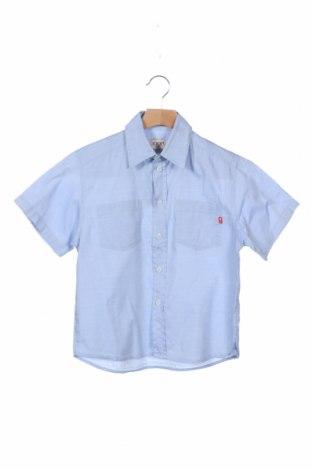 Παιδικό πουκάμισο Joop!, Μέγεθος 5-6y/ 116-122 εκ., Χρώμα Μπλέ, Βαμβάκι, Τιμή 16,46€
