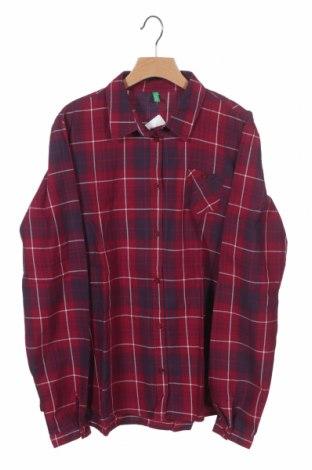 Детска риза United Colors Of Benetton, Размер 14-15y/ 168-170 см, Цвят Розов, Памук, Цена 5,56лв.