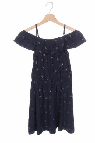 Παιδικό φόρεμα, Μέγεθος 11-12y/ 152-158 εκ., Χρώμα Μπλέ, Βισκόζη, Τιμή 4,77€