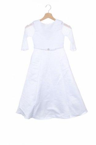 Παιδικό φόρεμα, Μέγεθος 6-7y/ 122-128 εκ., Χρώμα Λευκό, Πολυεστέρας, Τιμή 22,81€
