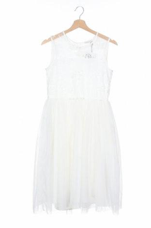 Παιδικό φόρεμα Name It, Μέγεθος 11-12y/ 152-158 εκ., Χρώμα Λευκό, Πολυεστέρας, Τιμή 14,23€
