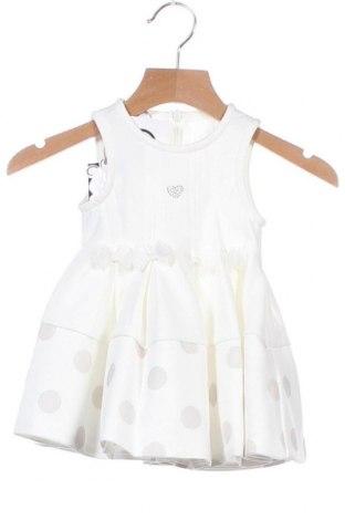 Παιδικό φόρεμα iDo By Miniconf, Μέγεθος 2-3m/ 56-62 εκ., Χρώμα Λευκό, 72% πολυεστέρας, 23% βισκόζη, 5% ελαστάνη, Τιμή 11,37€