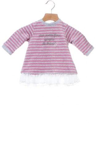 Παιδικό φόρεμα iDo By Miniconf, Μέγεθος 2-3m/ 56-62 εκ., Χρώμα Γκρί, 75% βαμβάκι, 25% πολυεστέρας, Τιμή 6,32€
