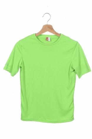 Παιδικό μπλουζάκι Decathlon, Μέγεθος 12-13y/ 158-164 εκ., Χρώμα Πράσινο, Πολυεστέρας, Τιμή 9,09€