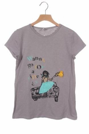Παιδικό μπλουζάκι Zara Kids, Μέγεθος 13-14y/ 164-168 εκ., Χρώμα Γκρί, Βαμβάκι, Τιμή 7,01€