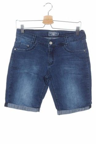 Παιδικό κοντό παντελόνι Blue Effect, Μέγεθος 15-18y/ 170-176 εκ., Χρώμα Μπλέ, 78% βαμβάκι, 20% πολυεστέρας, 2% ελαστάνη, Τιμή 8,28€