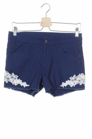 Παιδικό κοντό παντελόνι H&M, Μέγεθος 14-15y/ 168-170 εκ., Χρώμα Μπλέ, Πολυεστέρας, Τιμή 12,20€