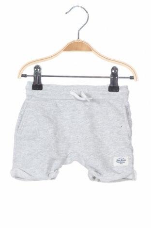 Παιδικό κοντό παντελόνι H&M, Μέγεθος 6-9m/ 68-74 εκ., Χρώμα Γκρί, Βαμβάκι, Τιμή 8,83€