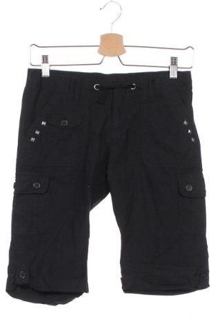 Παιδικό κοντό παντελόνι Inside, Μέγεθος 12-13y/ 158-164 εκ., Χρώμα Μαύρο, Βαμβάκι, Τιμή 5,91€