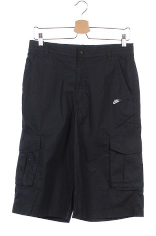 Παιδικό κοντό παντελόνι Nike, Μέγεθος 13-14y/ 164-168 εκ., Χρώμα Μαύρο, Βαμβάκι, Τιμή 14,29€