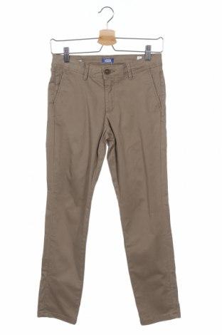 Παιδικό παντελόνι Jack & Jones, Μέγεθος 11-12y/ 152-158 εκ., Χρώμα Καφέ, 98% βαμβάκι, 2% ελαστάνη, Τιμή 9,60€