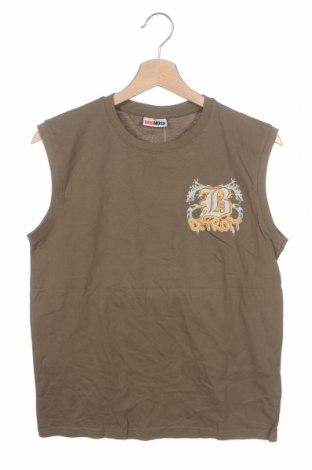 Μπλουζάκι αμάνικο παιδικό Dognose, Μέγεθος 12-13y/ 158-164 εκ., Χρώμα Πράσινο, Βαμβάκι, Τιμή 6,59€
