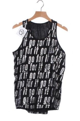 Μπλουζάκι αμάνικο παιδικό Here+There, Μέγεθος 12-13y/ 158-164 εκ., Χρώμα Μαύρο, Βαμβάκι, Τιμή 3,18€